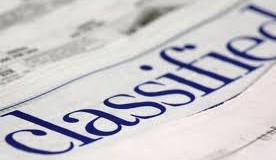 Listing Items for Sale – CLASSIFIED Advert/Listing